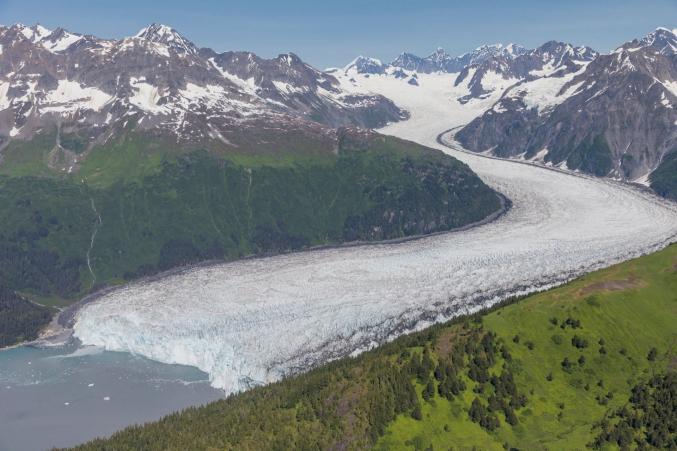 Glaciers Of Prince William Sound