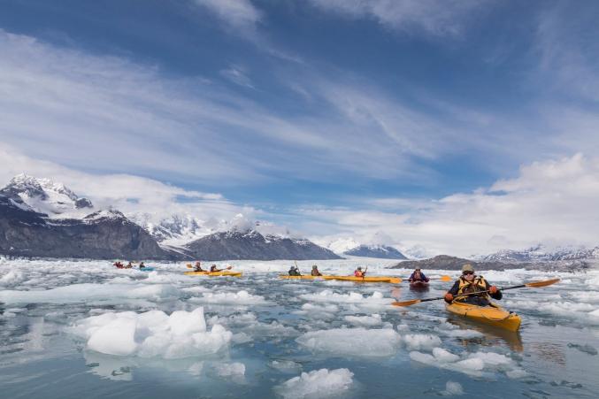 Custom Group AK Kayaking Trips