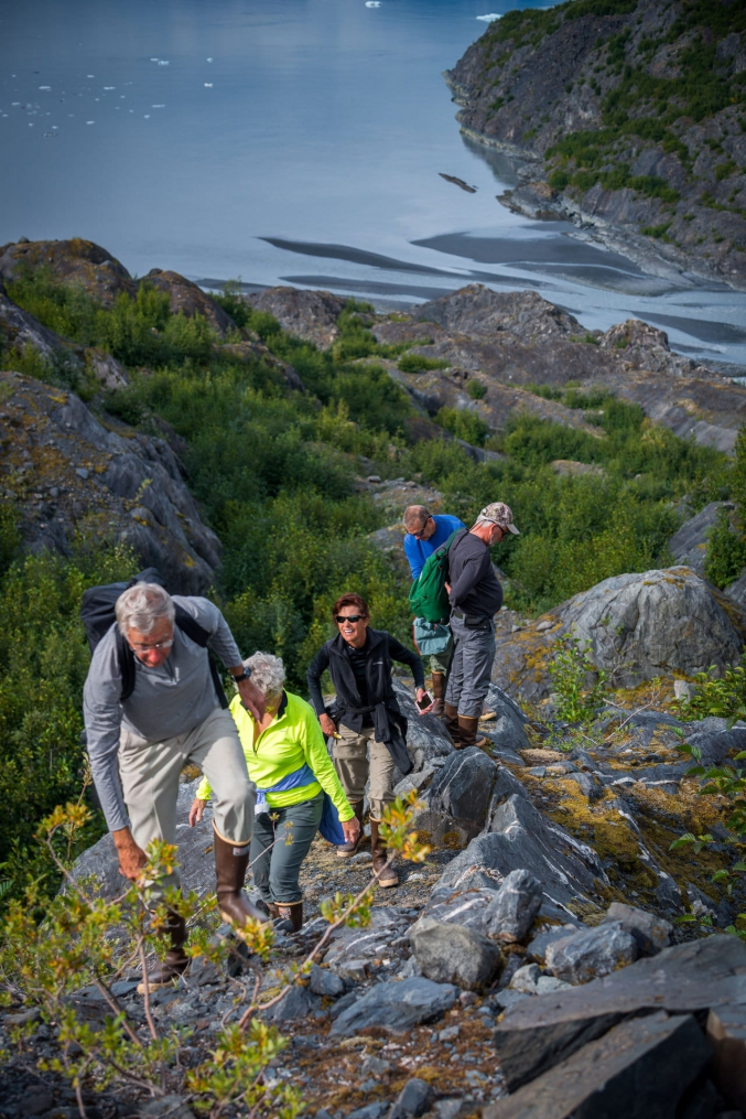 Hiking With Family In Alaska