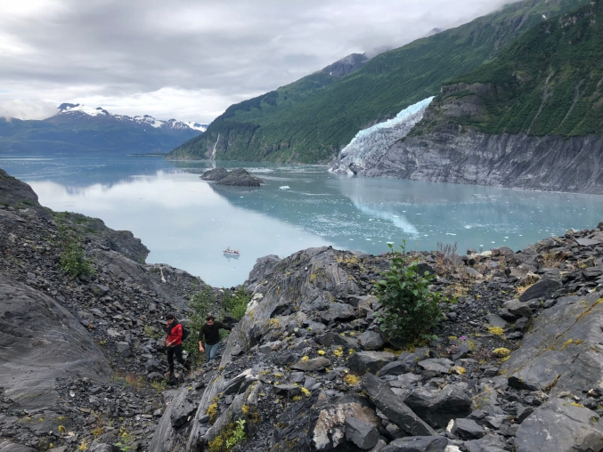 Group Glacier Viewing In Prince William Sound