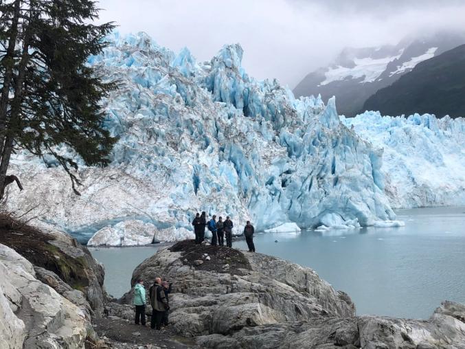 Group Glacier Viewing