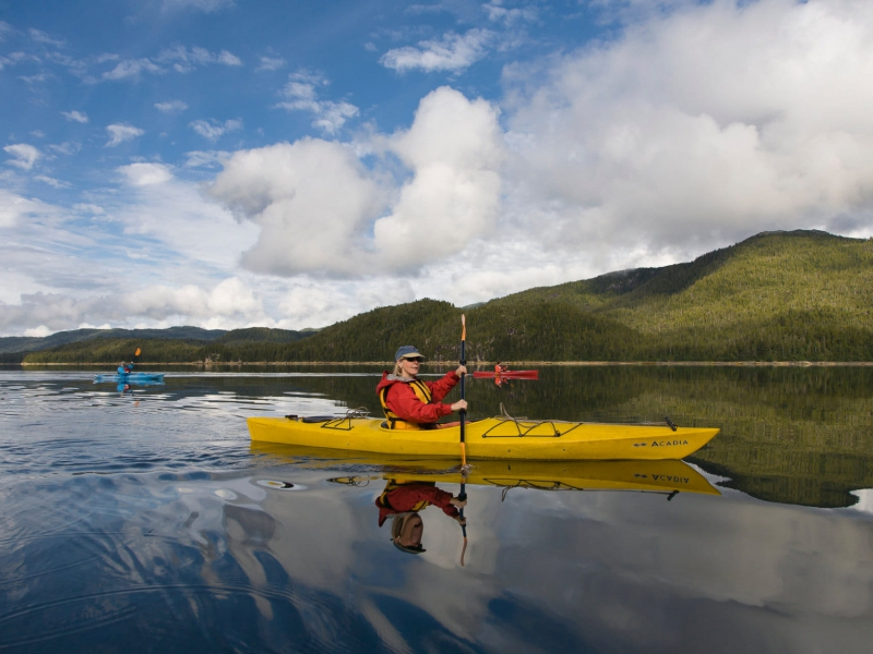 Kayaking Family Trips With Discovery Voyages