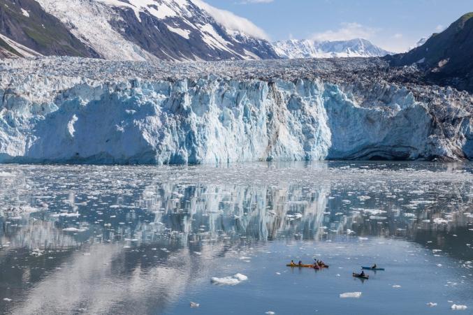 Kayaking Journey In Alaska
