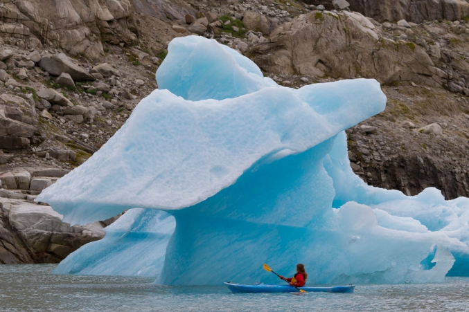 Kayaking With Icebergs Alaska