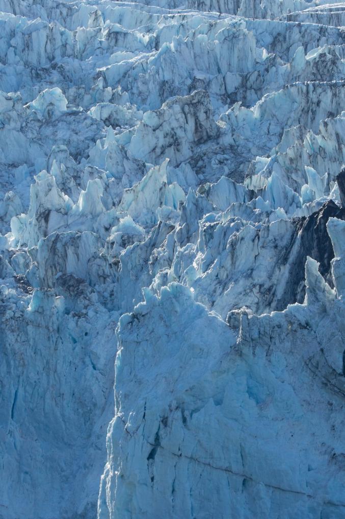 Massive Alaska Calving Glaciers