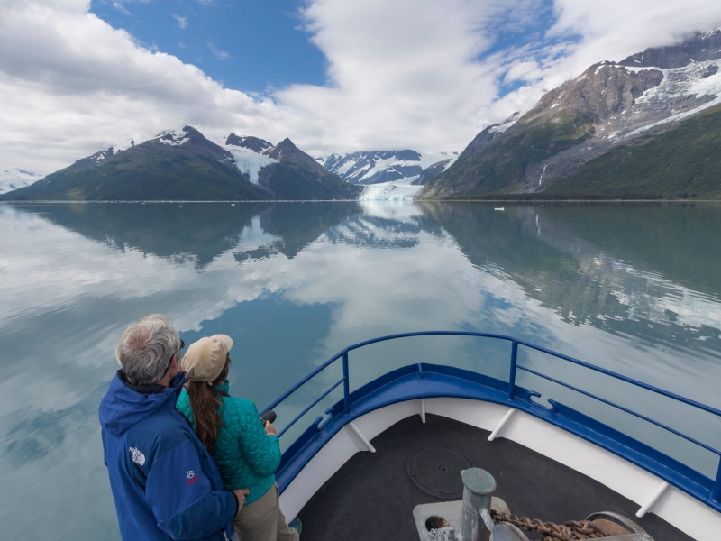 Cruising The Waters Of Prince William Sound Alaska