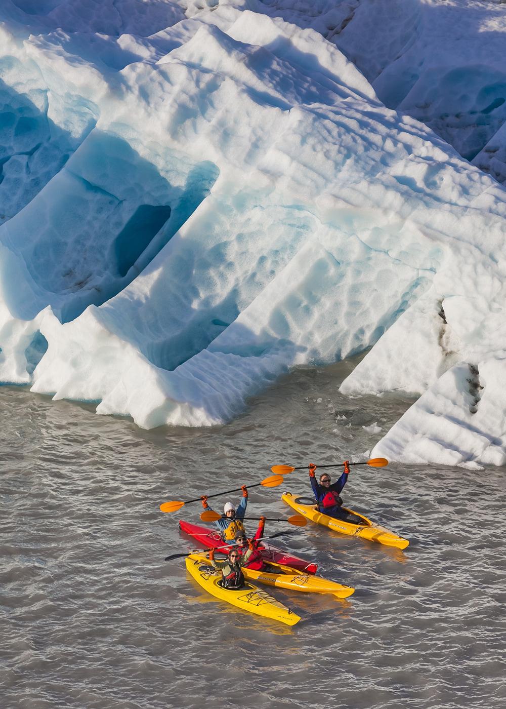 Kayakers In Nellie Juan Lagoon