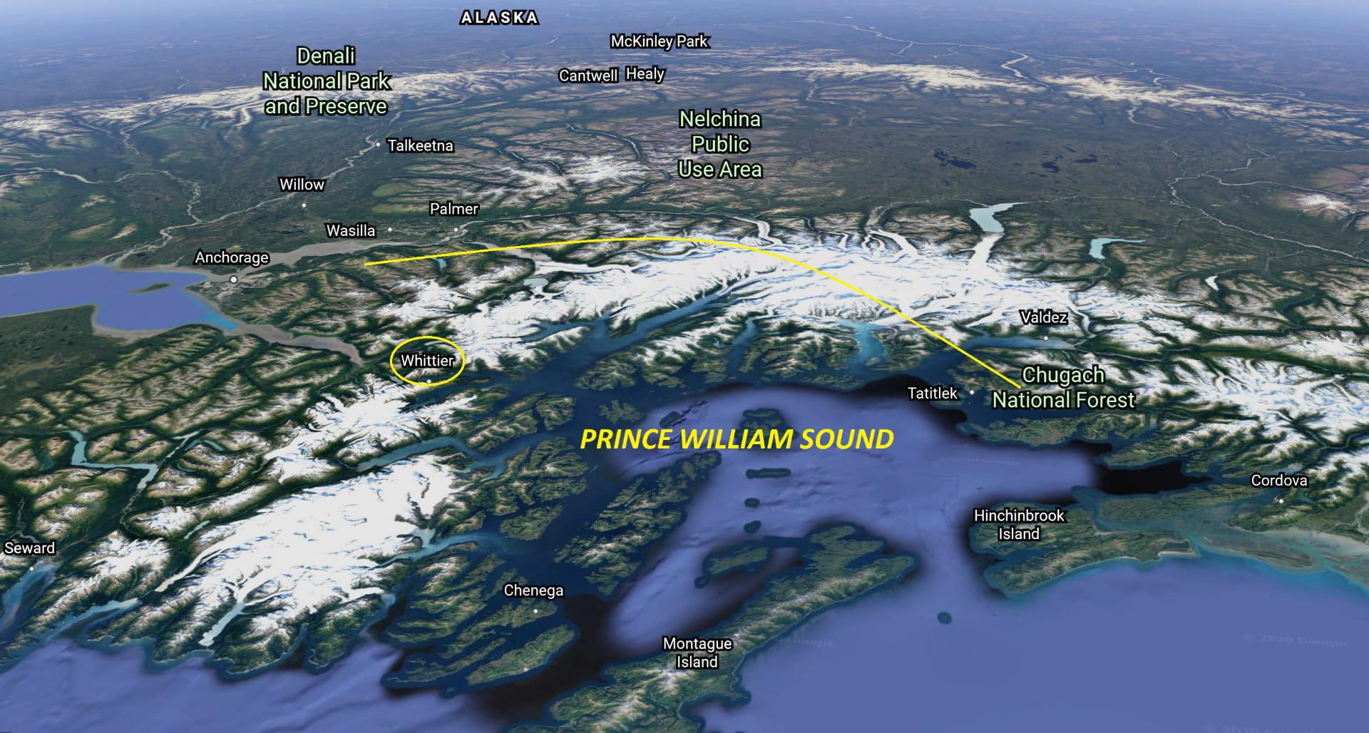 PWS Alaska Map